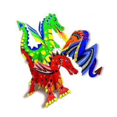 4M 4M Makendo Dragon World Ejderha Dünya Renkli
